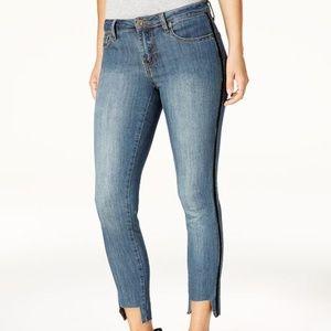 Rampage Cropped Hem Jeans